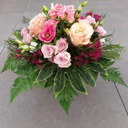 Rosenstrauß rosa/pink